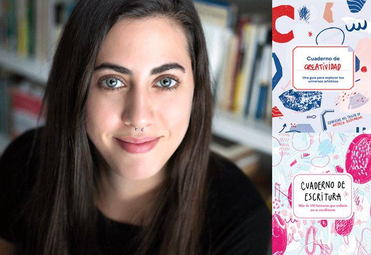 La escritora, que brinda talleres desde hace 10 años, publicó dos cuadernos que estimulan la escritura y creatividad