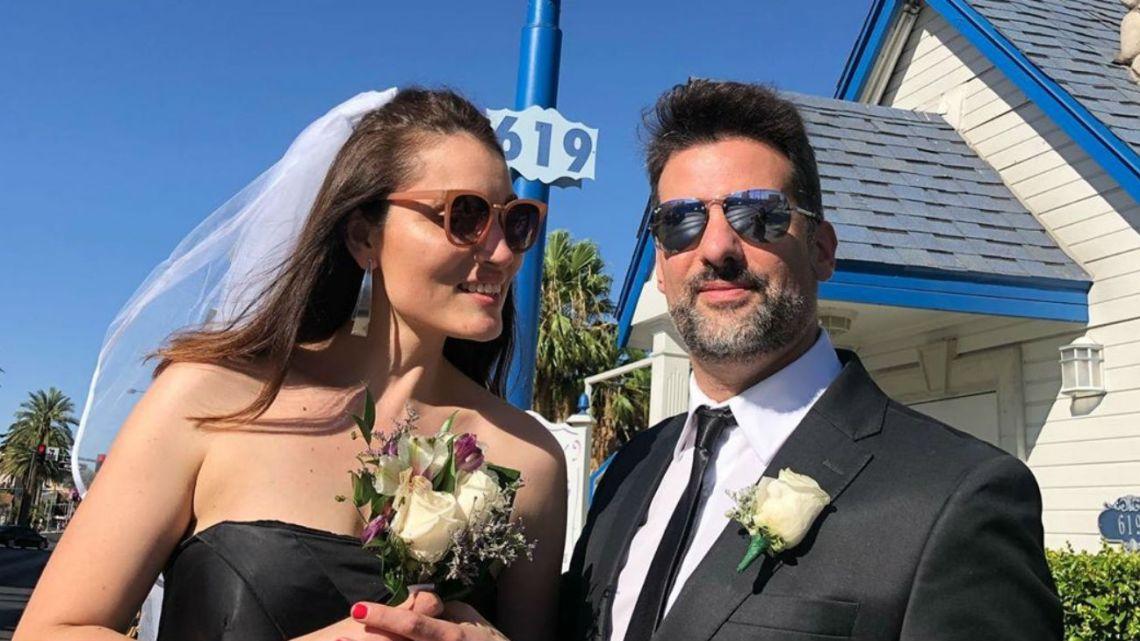 La emotiva propuesta de casamiento de José María Listorti a su mujer