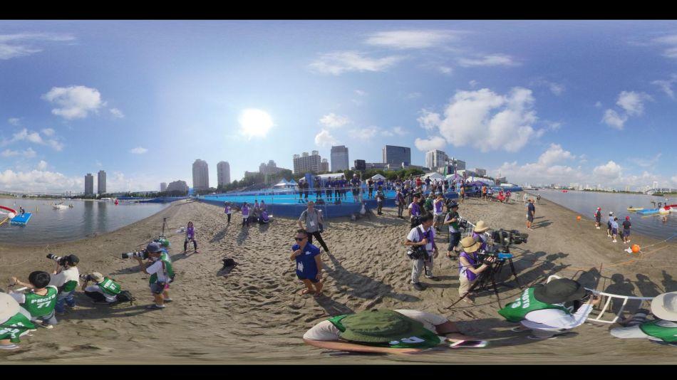 Las futuras sedes de los Juegos olímpicos en Tokyo vistos en 360º _g