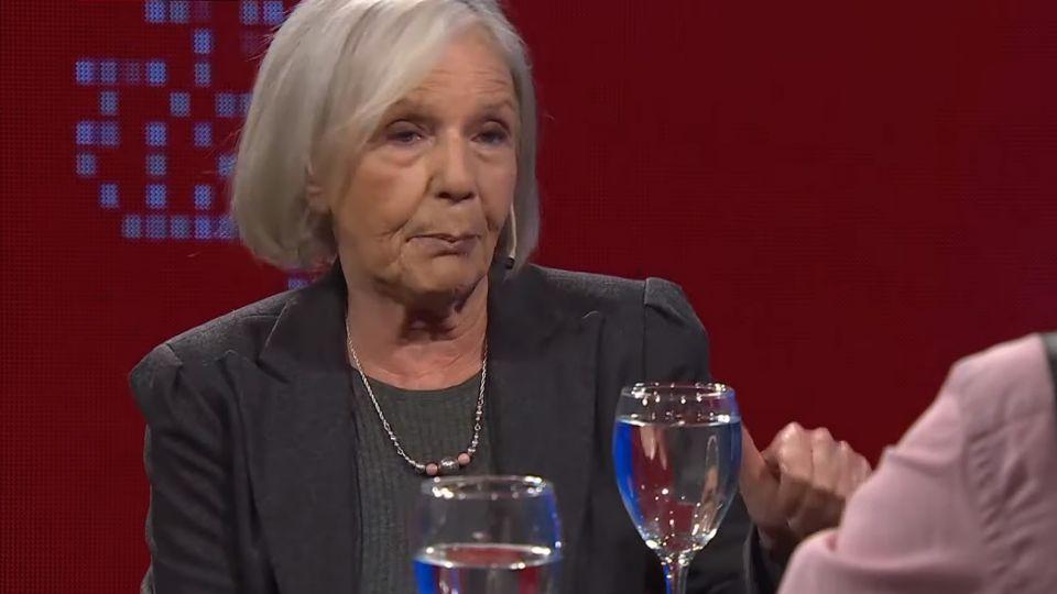 Beatriz Sarlo en el programa de Luis Novaresio.