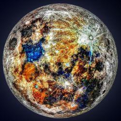 La luna como nunca antes la habíamos visto, gracias a un increíble trabajo del astrofotógrafo Andrew Mccarthy.