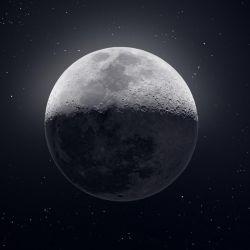 50.000 fotografías fueron necesarias para capturar esta imagen tan nítida de la luna, anterior obra de Andrew Mccarthy.