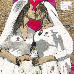 El beso de Kate Middleton con otra mujer que sorprendió a la realeza inglesa
