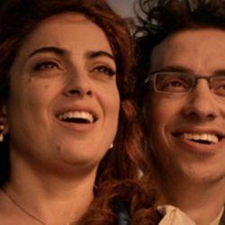 Paola Barrientos y Gonzalo Suárez como Claudia y Marcos