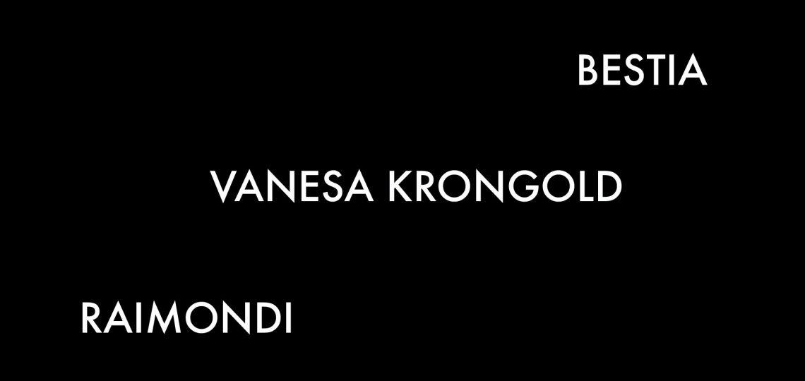 Bestia, Raimondi y Vanesa Krongold: 3 firmas que pisan fuerte enBafweek