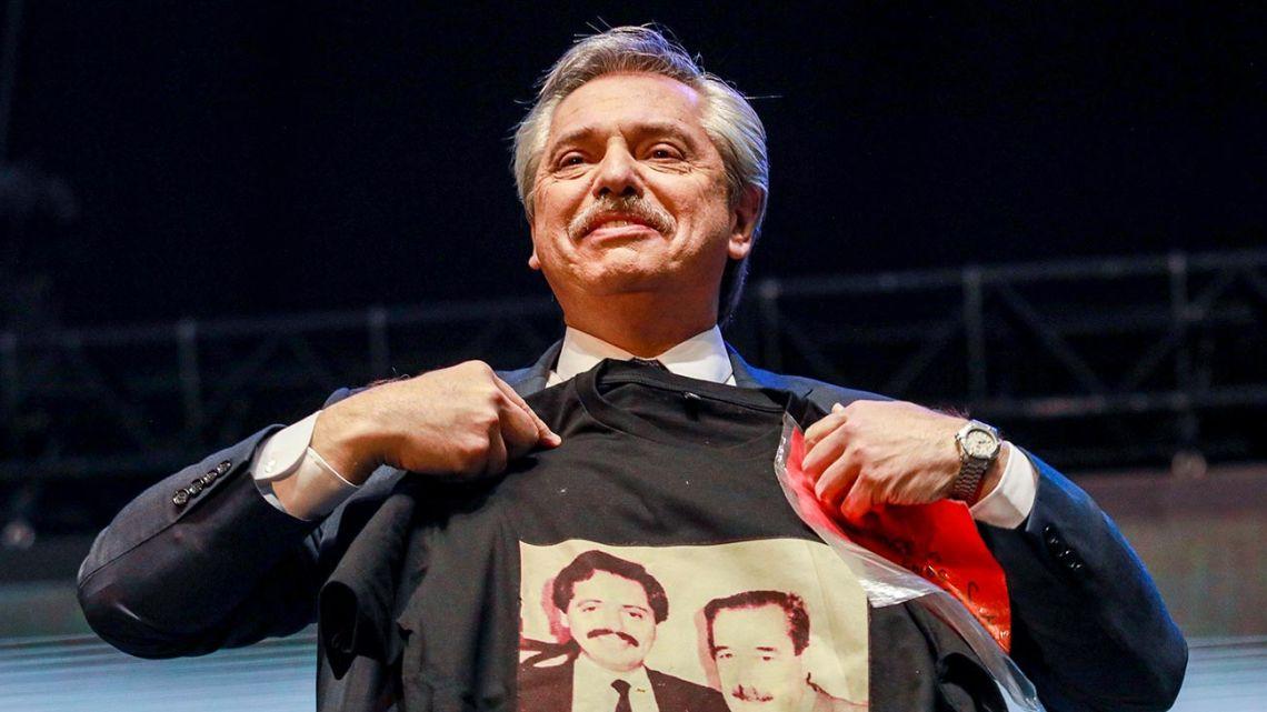 Presidential hopeful Alberto Fernández.