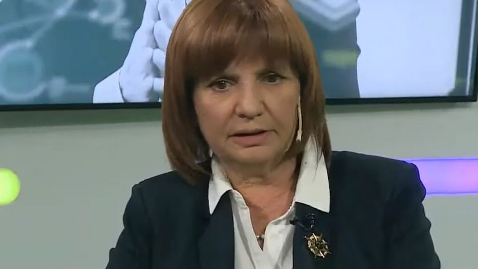 ministra seguridad patricia bullrich
