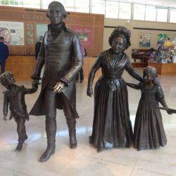 La estancia de Mount Vernon fue la casa de George Washington, un hacendado que se vio obligado a luchar por la independencia de su país.