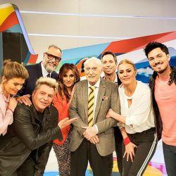 Cacho Fontana en el programa de Rial
