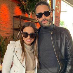 El Pollo Álvarez y Tefi Russo