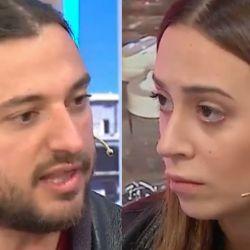 Juan Grabois y Nai Awada