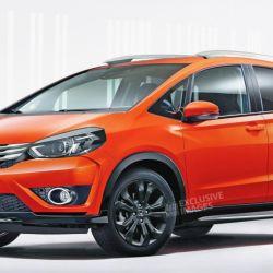 Posible diseño del Honda Fit (Fuente: Autoexpress)