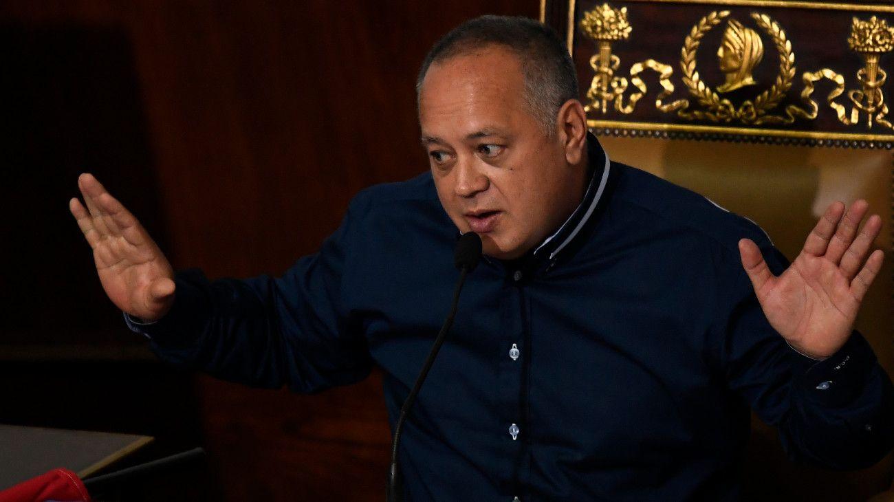 Diosdado Cabello, presidente de la Asamblea Nacional Constituyente de Venezuela.