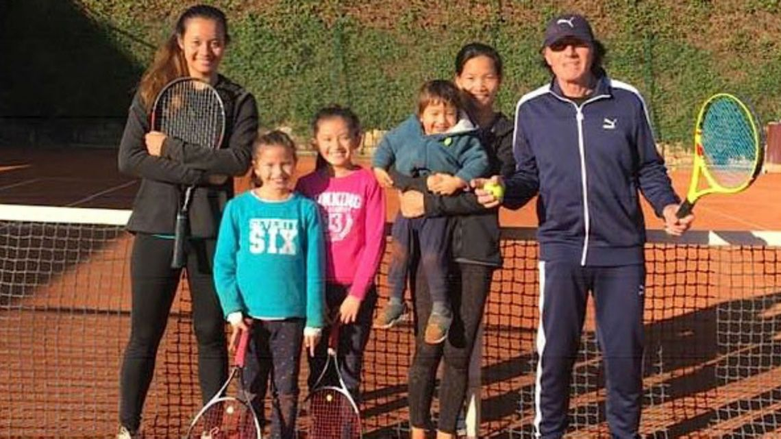 Conoce a la familia de tenistas de Guillermo Vilas