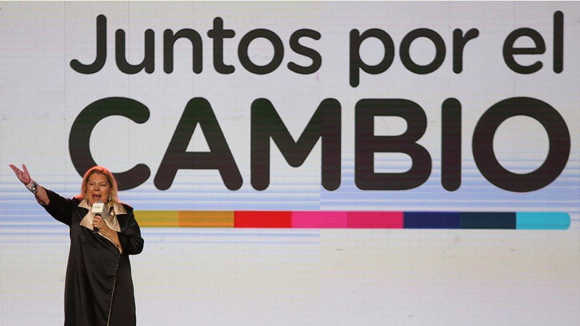 Lawmaker Elisa 'Lilita' Carrió.