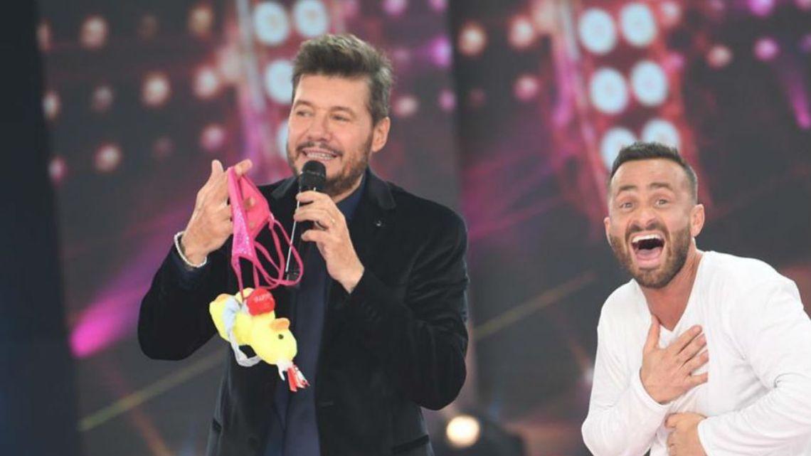 Martín Baclini confesó su amor por Marcelo Tinelli