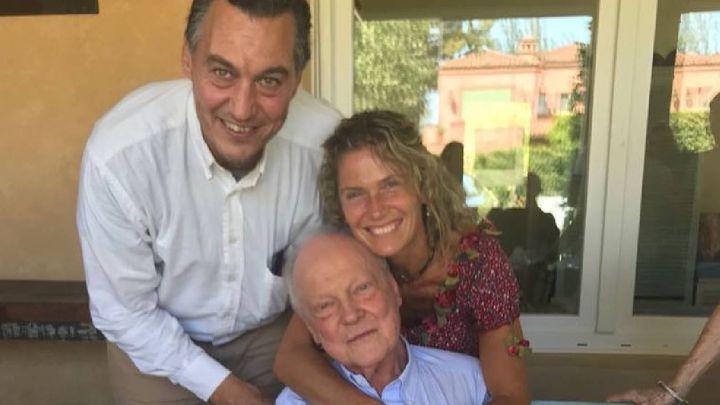 Maru Botana destrozada por la muerte de su padre