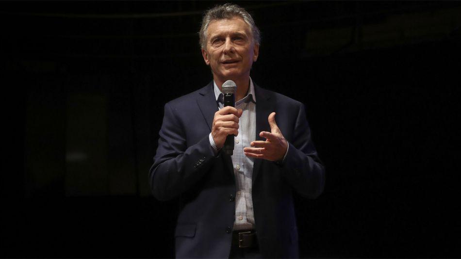 Mauricio Macri en la última reunión de Gabinete ampliado