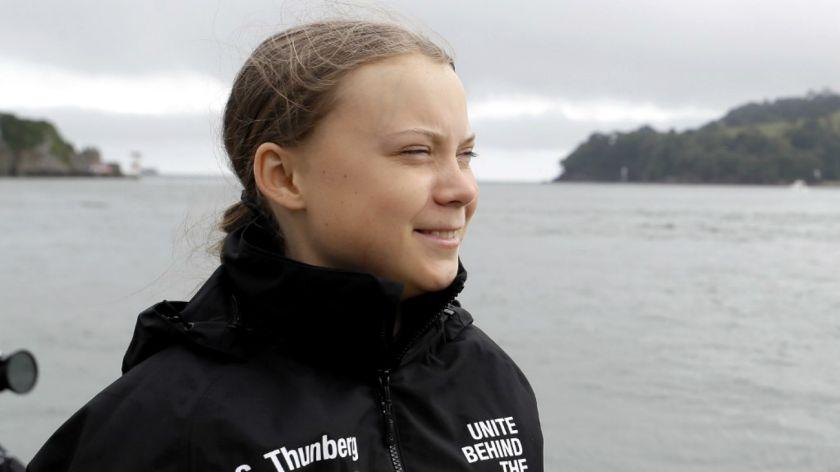 La travesía de Greta Thunberg poco interesa a prensa sueca