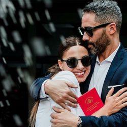 El Pollo Álvarez junto a Tefi Russo