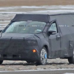 Posible pick-up Ford realizando pruebas (Fuente: Motor 1)