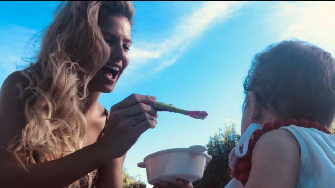 El video que muestra la verdadera pasión de Magnolia, la hija de la China Suárez