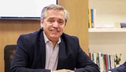 Alberto Fernández, candidato presidencial.
