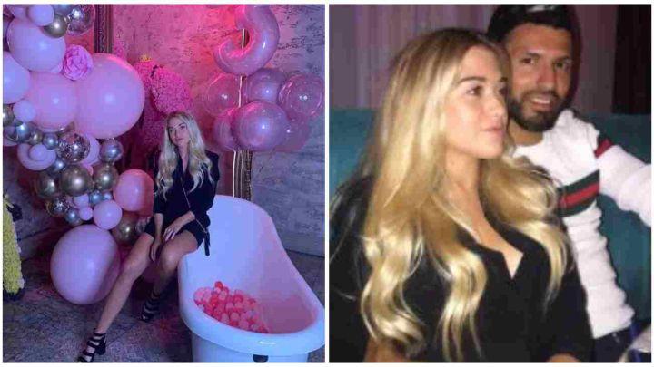 Kun Agüero sorprendió a su novia, Sofía Calzetti, con un fabuloso festejo de cumpleaños
