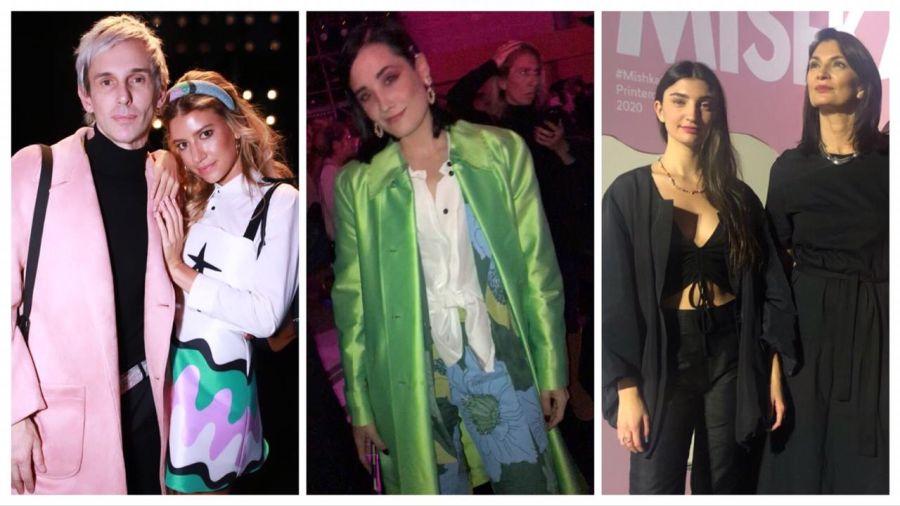 Mila Kartei, Raimondi y Mishka congregaron famosos en la semana de la moda de Buenos Aires