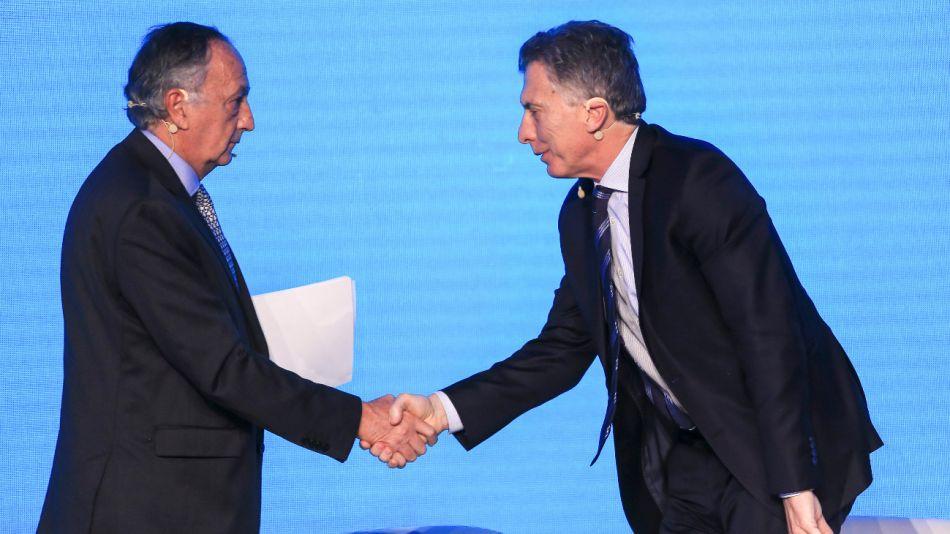 titular UIA Miguel Acevedo y Mauricio Macri 20190816