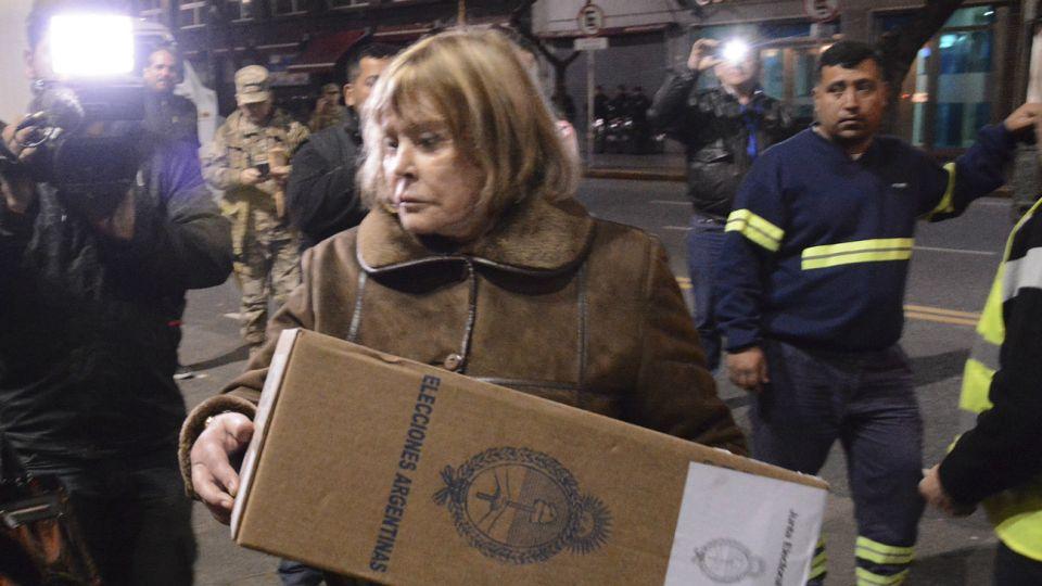 Archivo. Jueza María Servini, en su caracter de autoridad de la Justicia electoral.