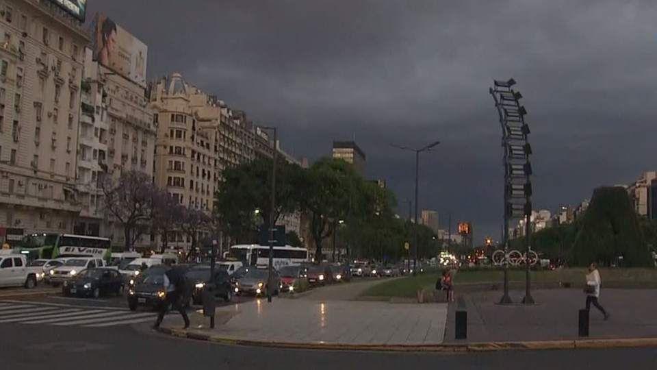 Lluvias en la Ciudad de Buenos Aires.