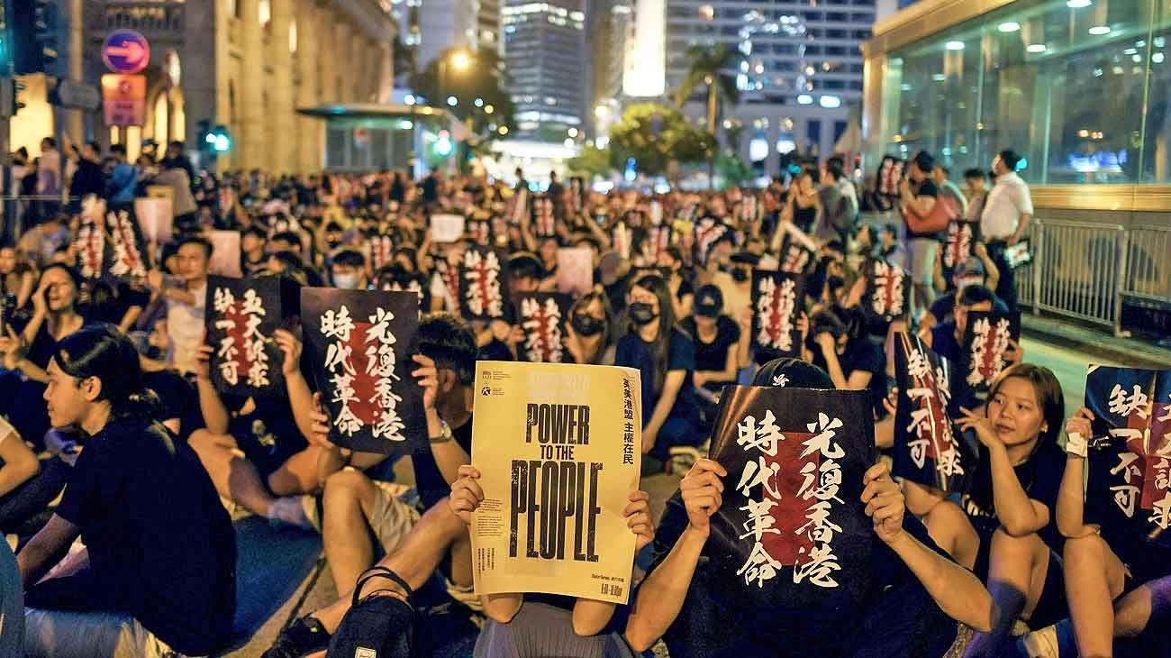 Hong Kong: recrudecen las protestas y crece el fantasma de Tiananmen
