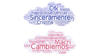 Big Data word cloud elecciones Hernán Makse