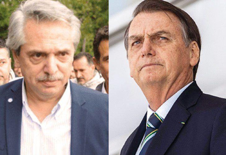 """Alberto Fernández envía más señales de distensión a Bolsonaro: """"No voy a cerrar la economía"""""""