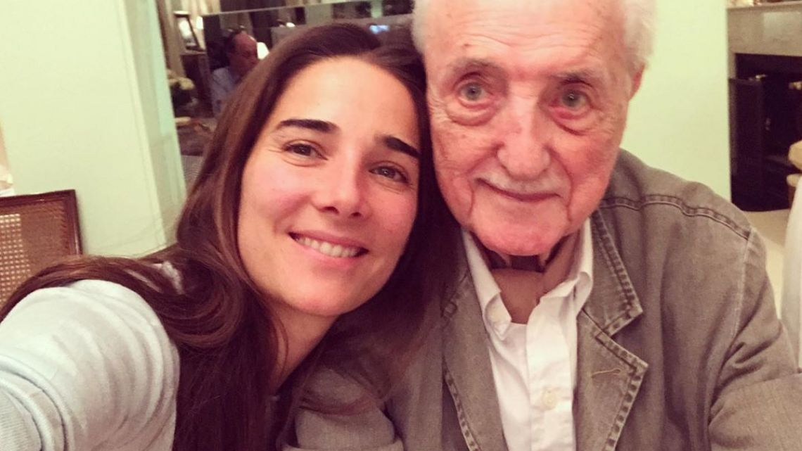 El emotivo mensaje de Juanita Viale tras la muerte de José Martínez Suárez
