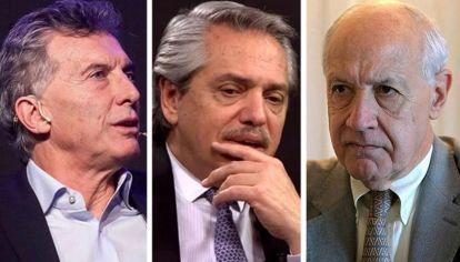OPCIONES. Tres hombres con expectativas y responsabilidades diferentes, afectados por el resultado de un mal instrumento electoral.