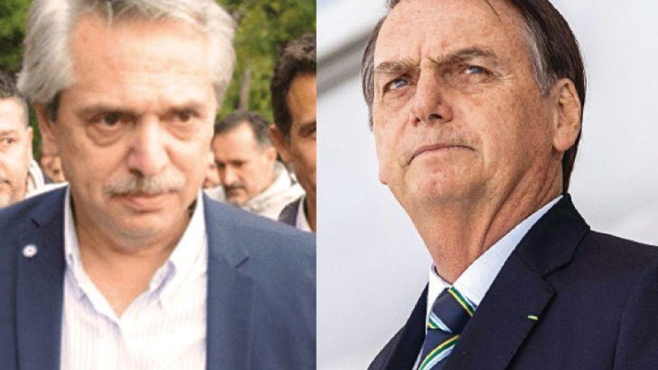Alberto Fernández vs. Bolsonaro