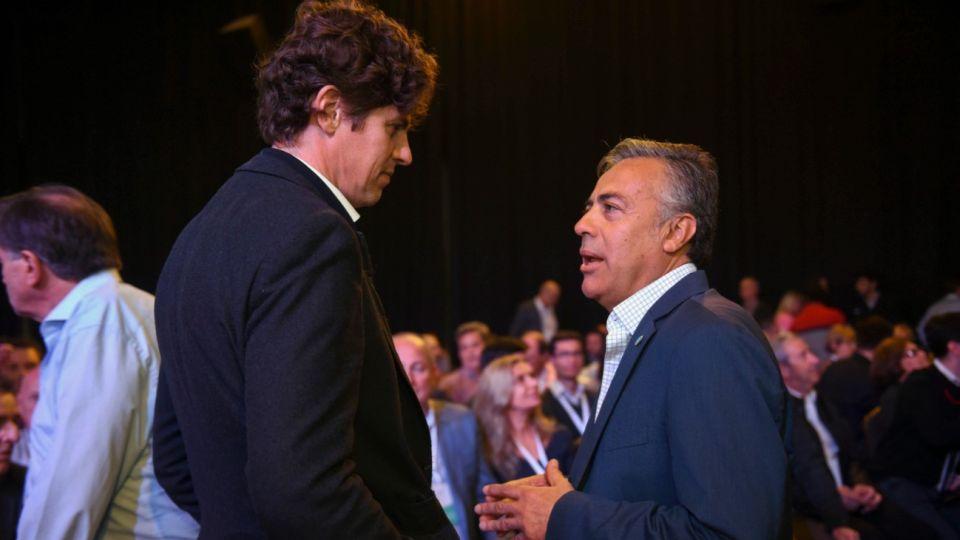 Martín Lousteau y Alfredo Cornejo.