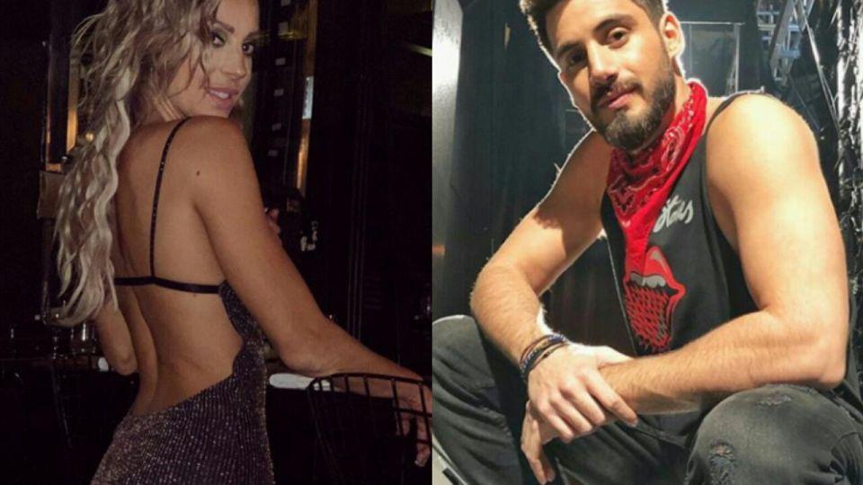 Pampita ya fue: Nico Ochiatto y Noelia Marzol, muy juntos en un boliche