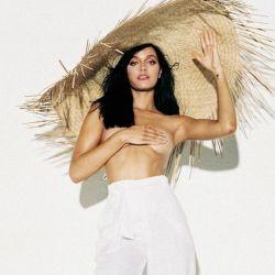 El topless de Oriana Sabatini