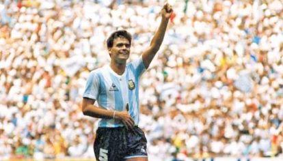 El hombro roto. Así jugó la final del Mundial ante Alemania. Puro coraje.