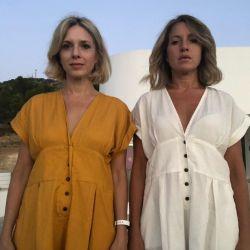 El retiro espiritual y detox de Carla Peterson junto a su hermana