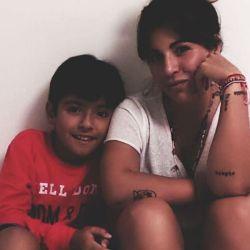 El sentido mensaje de Ginaninna Maradona a su hijo por el Día del Niño