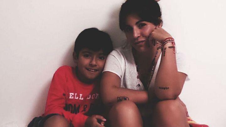 El sentido mensaje de Gianinna Maradona a su hijo por el Día del Niño