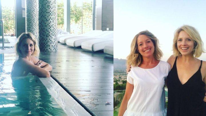 GALERÍA | El retiro espiritual y detox de Carla Peterson junto a su hermana