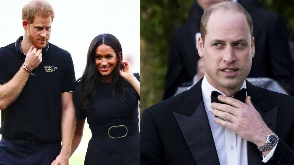 """El comportamiento """"tóxico"""" del príncipe Harry y Meghan Markle provoca """"celos"""" en el Príncipe William"""