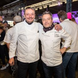 Bruno y Olivier en Feria Masticar 2019.