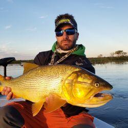 Obtuvimos hermosos dorados en un nuevo pesquero cercano a Esquina.