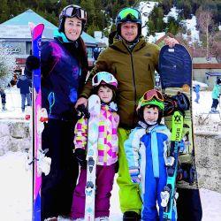 Conocé a los dos hijos y la esposa de Navid Nalbandian